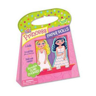 Peaceable Kingdom Paper Doll - Princess Reusable Sticker Tote