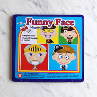 Magnetic Funny Face Boy Tin Box
