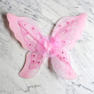 Butterfly Wings, 2 Layers, Light Pink