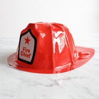 Fire Chief Red Helmet