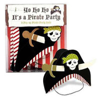 Meri Meri Yo Ho Ho! Pirate Party Hats - Pack of 8