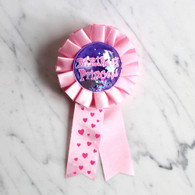 Happy Birthday Princess Award Clip Ribbon Badge