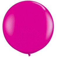"36"" Giant Balloon Fuchsia"