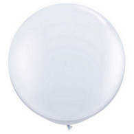 "36"" Giant Balloon Pearl White"