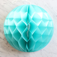Mint Green Honeycomb Deco Ball 30cm