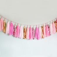 Studio Mucci Pink Sweet Tassel Garland
