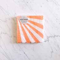 Meri Meri Toot Sweet Orange Cocktail Napkins - Pack of 20
