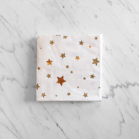 Meri Meri Toot Sweet Gold Star Cocktail Napkins - Pack of 16