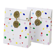 Meri Meri All Wrapped Up Mini Gift Bags w/ Tissue Paper - Pack of 2