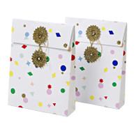 Meri Meri All Wrapped Up Mini Gift Bags w/ Tissue Paper - Pack of 2