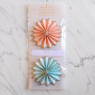 Meri Meri Pinwheels Gift Tags - Pack of 2