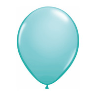 "Qualatex Latex Balloon 11"", Caribbean Blue - Pack of 10"