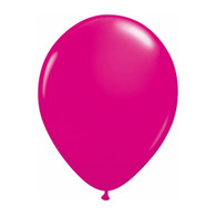 "Qualatex Latex Balloon 11"", Wild Berry - Pack of 10"