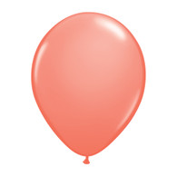 "Qualatex Latex Balloon 11"", Coral Pink - Pack of 10"