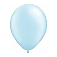 "Qualatex Latex Balloon 11"", Pearl Light Blue - Pack of 10"