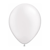 "Qualatex Latex Balloon 11"", Pearl White - Pack of 10"