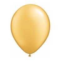 "Qualatex Latex Balloon 11"", Gold - Pack of 10"