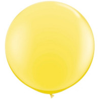 "36"" Giant Balloon Pearl Lemon Chiffon"