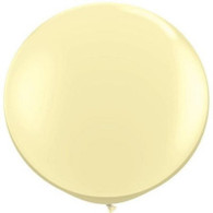"36"" Giant Balloon Pearl Ivory"