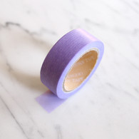 Candy Coloured Plain Washi Tape, Purple- 10m Roll