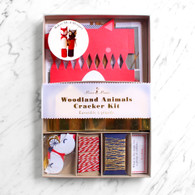 Meri Meri Woodland Animals Make Your Own Cracker Kit - Pack of 10