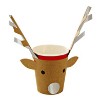 Meri Meri Be Jolly Reindeer Cups - Pack of 12