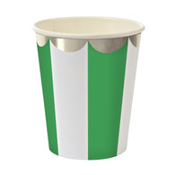 Meri Meri Toot Sweet Green Cups - Pack of 8
