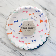 Meri Meri Toot Sweet Bows Cake Plates - Pack of 8