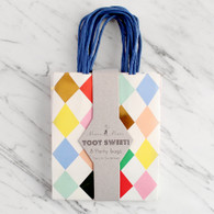 Meri Meri Toot Sweet Harlequin Party Bags - Pack of 8