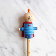 Super Hero Wooden Pencil