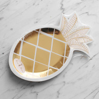 Meri Meri Toot Sweet Gold Pineapple Plates - Pack of 8