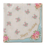 Truly Scrumptious Happy Birthday Napkins - Pack of 20