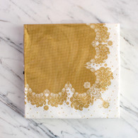 Talking Tables Party Porcelain Gold Napkins - Pack of 20