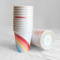 Meri Meri Toot Sweet Rainbow & Unicorn Cups - Pack of 12
