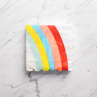 Meri Meri Toot Sweet Rainbow & Unicorn Cocktail Napkins - Pack of 20