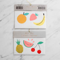 Meri Meri Tropical Fruit Tattoos - 2 sheets