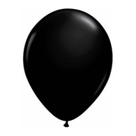 "Qualatex Latex Balloon 11"", Black - Pack of 10"