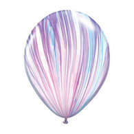 "Qualatex Agate Latex Balloon 11"", Unicorn Marble - Pack of 5"