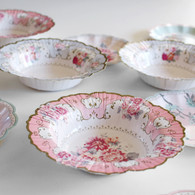 Talking Tables Truly Scrumptious Floral Paper Bowls - Pack of 12