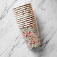 Meri Meri Liberty Flower Assorted Cups - Pack of 12