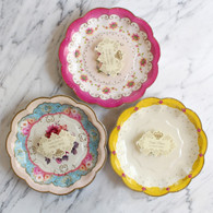 Truly Scrumptious 3 Design Cake Plates - Pack of 12.