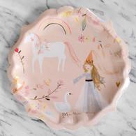 Meri Meri Magical Princess Unicorn Large Plates - Pack of 8
