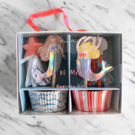 Meri Meri Let's Be Mermaids Cupcake Kit - Pack of 24