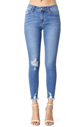 KanCan Denim - Brigette Ankle - Medium Wash