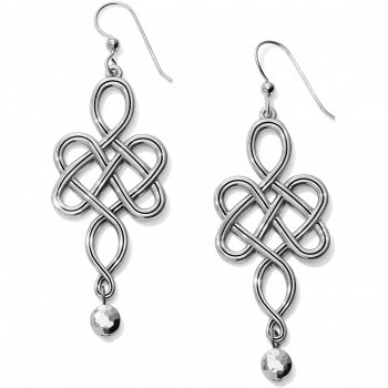 BRIGHTON - Interlok Endless Knot French Wire Earrings