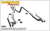"Magnaflow Stainless 2.5"" Street Series Cat-Back System 11-12 Mustang V6"