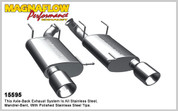 "Magnaflow Stainless 2.5"" Street Series Axle Back System 11-12 Mustang V6"