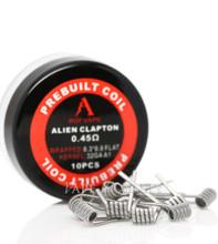 ROFVAPE- Alien Clapton Pre-built coils 0.45ohm- 10pcs
