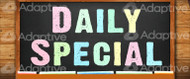 48 X 112 Saturday Daily Special