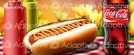 64 X 128 Hot Dog